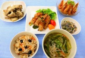 世界農業遺産の里の料理講座