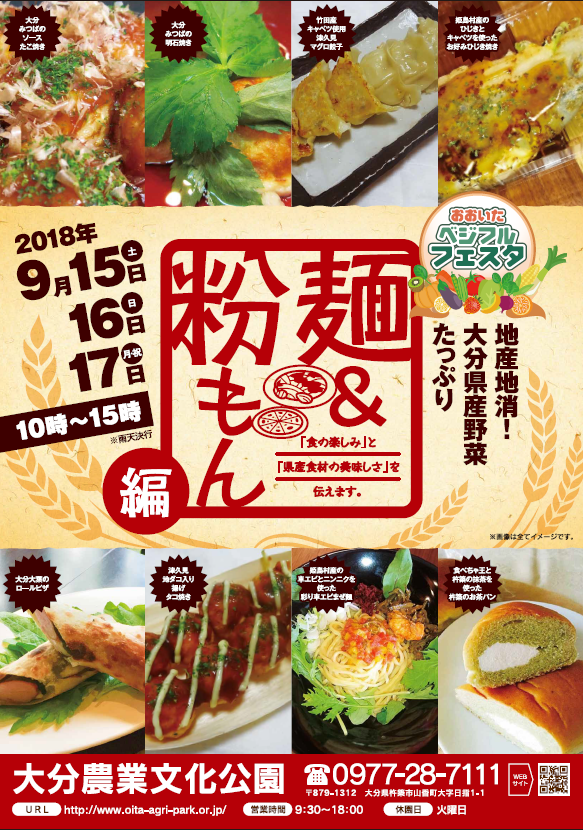 180828おおいたベジフルフェスタ麺&粉もん編