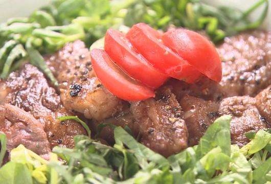 181014Adagio:百年の恵み おおいた和牛のステーキ丼2