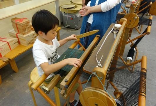190617夏休み親子体験教室:はた織り